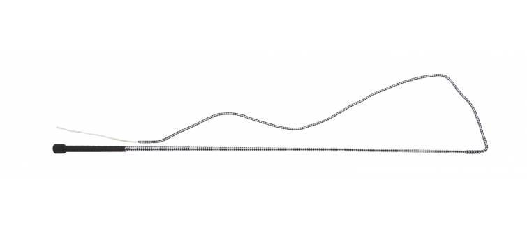 "R417 40""-50""/100cm-127cm  Heavy Polypropylene Braid and Thong, Rubber Handle, Polypropylene"